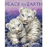 """Набор для вышивания крестом Kustom Krafts Inc. """"Мир на земле"""""""