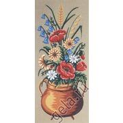 """Канва с нанесенным рисунком Gobelin-L """"Полевые цветы"""""""