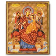"""Набор для вышивания бисером Радуга бисера (Кроше) """"Богородица Всецарица"""""""
