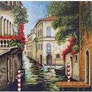 """Набор для вышивания крестом Luca-S """"Венеция в цветах"""""""