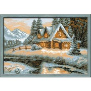 """Набор для вышивания крестом Риолис """"Зимний пейзаж"""""""