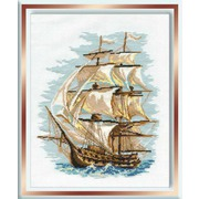 """Набор для вышивания крестом Риолис """"Корабль 3"""""""