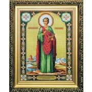 """Набор для вышивания бисером Чаривна Мить """"Икона великомученика и целителя Пантелеймона"""""""