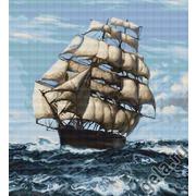 """Набор для вышивания крестом Luca-S """"Корабль"""""""
