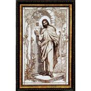 """Набор для вышивания крестом Чаривна Мить """"Иисус стучится в твою дверь"""""""