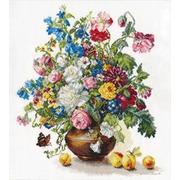 """Набор для вышивания крестом Алиса """"Поэзия цветов. Благоухание лета"""""""