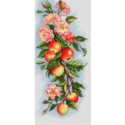 """Набор для вышивания крестом Luca-S """"Композиция с яблоками"""""""