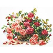 """Набор для вышивания крестом Чудесная игла """"Королевские розы"""""""