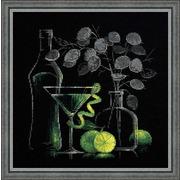 """Набор для вышивания крестом Риолис """"Натюрморт с мартини"""""""