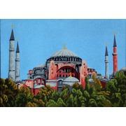 """Канва с нанесенным рисунком Gobelin-L """"Голубая мечеть"""""""