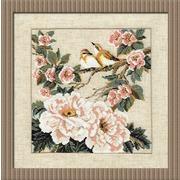 """Набор для вышивания крестом Риолис """"Китайские мотивы. Весна"""""""