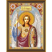 """Набор для вышивания бисером Nova sloboda """"Св. Архангел Михаил"""""""