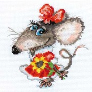 """Набор для вышивания крестом Алиса """"Мышуля"""""""
