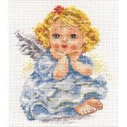 """Набор для вышивания крестом Алиса """"Ангелок мечты"""""""
