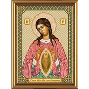 """Набор для вышивания бисером Nova sloboda """"Пресвятая Богородица Помощница в родах"""""""