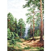 """Набор для вышивания крестом Палитра """"Сосновый лес"""""""