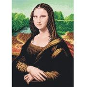 """Канва с нанесенным рисунком Orchidea """"Мона Лиза"""""""