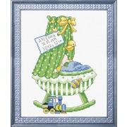 """Набор для вышивания крестом Овен """"Зеленая колыбель"""""""