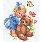 """Набор для вышивания крестом Алиса """"Машенька"""""""