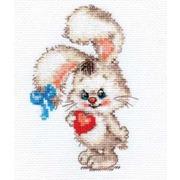 """Набор для вышивания крестом Алиса """"Моей зайке"""""""