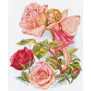 """Набор для вышивания крестом Алиса """"Фея розового сада"""""""