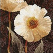 """Набор для вышивания крестом Алиса """"Белые цветы. Открытый свету"""""""