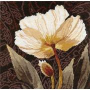 """Набор для вышивания крестом Алиса """"Белые цветы. Залитый светом"""""""