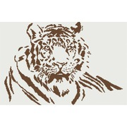 """Набор для вышивания крестом М.П. Студия """"Тигр (беж)"""""""
