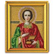 """Набор для вышивания бисером Радуга бисера (Кроше) """"Святой Великомученик Пантелеимон"""""""