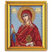"""Набор для вышивания бисером Радуга бисера (Кроше) """"Святая Мироносица Мария Магдалина"""""""