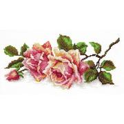 """Набор для вышивания крестом Чудесная игла """"Аромат розы"""""""