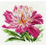 """Набор для вышивания крестом Алиса """"Розовый пион"""""""