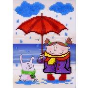"""Набор для вышивания бисером Louise """"Под дождем"""""""