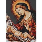 """Набор для вышивания крестом Luca-S """"Божья Матерь"""""""