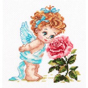 """Набор для вышивания крестом Чудесная игла """"Ангел нашего счастья"""""""