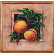 """Набор для вышивания бисером Магия канвы """"Наш сад Персики"""""""