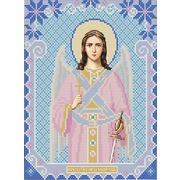 """Ткань с рисунком для вышивки бисером Конёк """"Ангел-Хранитель"""""""