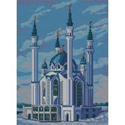 """Ткань с рисунком для вышивки бисером Конёк """"Мечеть Кул Шариф"""""""