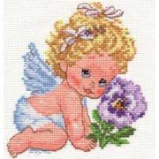 """Набор для вышивания крестом Алиса """"Ангелок счастья"""""""