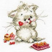 """Набор для вышивания крестом Алиса """"Сладкая конфетка"""""""