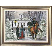 """Набор для вышивания крестом Краса и творчество """"Времена года. Зима"""""""