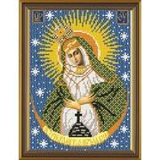 """Канва/ткань с нанесенным рисунком Nova sloboda """"Богородица Остробрамская"""""""