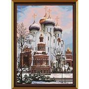 """Набор для вышивания крестом Nova sloboda """"Успенский собор"""""""