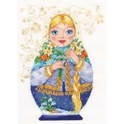 """Набор для вышивания крестом Алиса """"Матрешки. Весна-красна"""""""