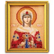 """Набор для вышивания бисером Радуга бисера (Кроше) """"Св. Варвара"""""""