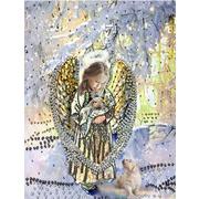 """Набор для вышивания хрустальными бусинами Образа в каменьях """"Лесной ангел"""""""