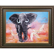 """Набор для вышивания бисером Магия канвы """"Африканский слон"""""""
