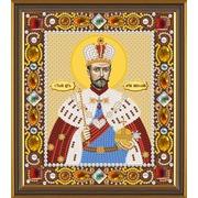 """Набор для вышивания бисером Nova sloboda """"Св. Мч. Царь Николай"""""""