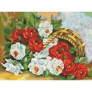 """Набор для выкладывания мозаики Паутинка """"Корзина роз"""""""