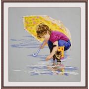 """Набор для вышивания крестом Овен """"Солнечный зонт"""""""